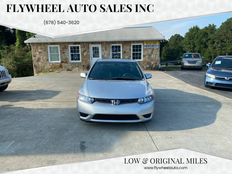 2008 Honda Civic for sale at Flywheel Auto Sales Inc in Woodstock GA