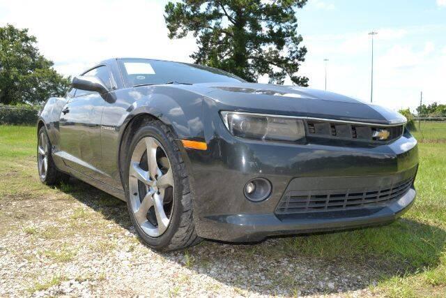 2014 Chevrolet Camaro for sale at WOODLAKE MOTORS in Conroe TX