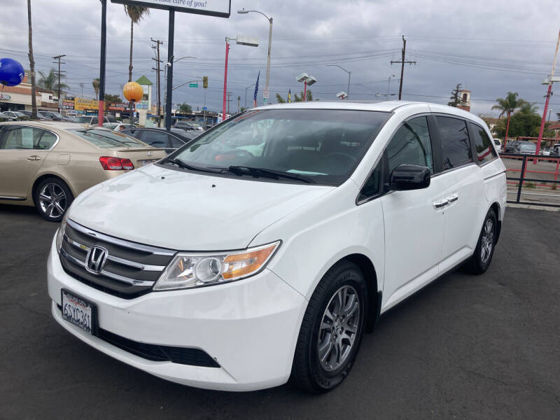 2011 Honda Odyssey for sale at Pacific West Imports in Los Angeles CA
