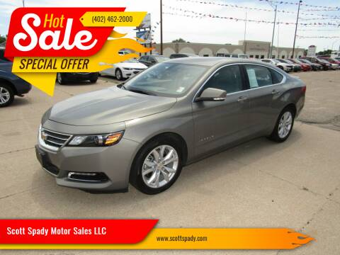 2019 Chevrolet Impala for sale at Scott Spady Motor Sales LLC in Hastings NE