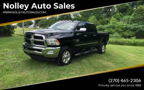 2014 RAM Ram Pickup 2500 for sale at Nolley Auto Sales in Campbellsville KY