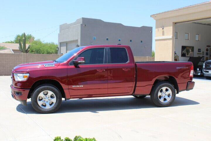 2021 RAM Ram Pickup 1500 for sale at CLASSIC SPORTS & TRUCKS in Peoria AZ