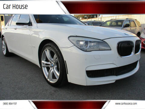 2011 BMW 7 Series for sale at Car House in San Mateo CA