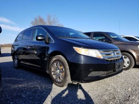 2012 Honda Odyssey for sale at Ridgeway's Auto Sales - Buy Here Pay Here in West Frankfort IL