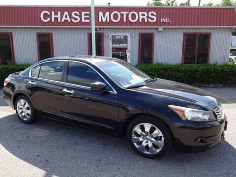 2009 Honda Accord for sale at Chase Motors Inc in Stafford TX