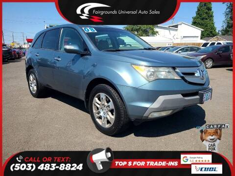 2008 Acura MDX for sale at Universal Auto Sales in Salem OR