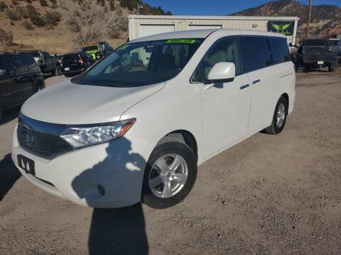 2012 Nissan Quest for sale at Canyon View Auto Sales in Cedar City UT