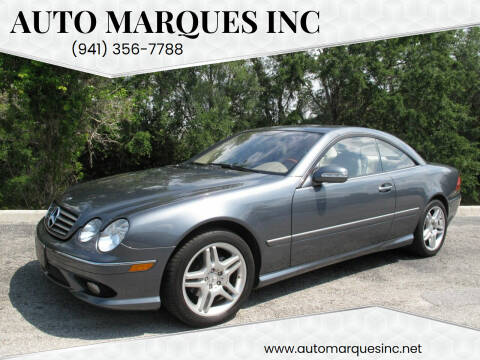 2006 Mercedes-Benz CL-Class for sale at Auto Marques Inc in Sarasota FL