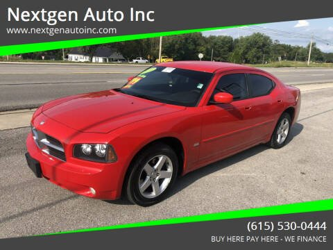 2010 Dodge Charger for sale at Nextgen Auto Inc in Smithville TN