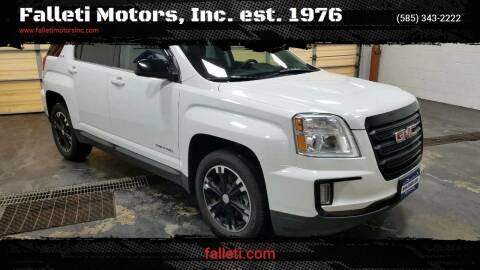 2017 GMC Terrain for sale at Falleti Motors, Inc.  est. 1976 in Batavia NY