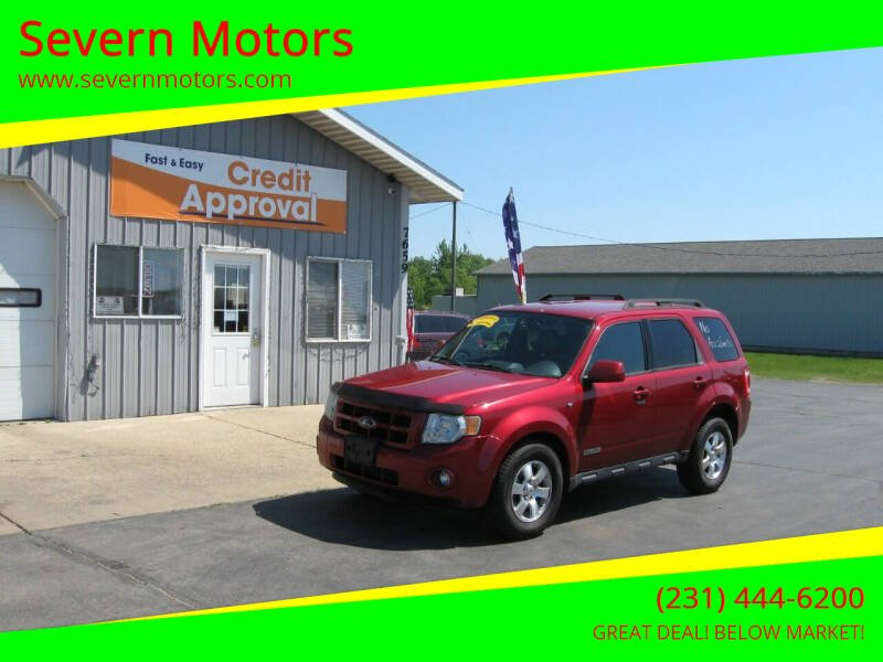 2008 Ford Escape for sale at Severn Motors in Cadillac MI