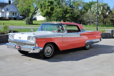 1959 Ford Galaxie for sale at Great Lakes Classic Cars & Detail Shop in Hilton NY