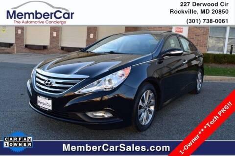 2014 Hyundai Sonata for sale at MemberCar in Rockville MD