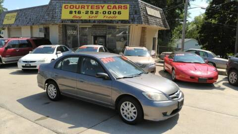 2005 Honda Civic for sale at Courtesy Cars in Independence MO