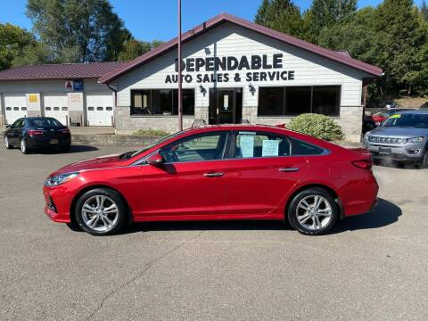 2018 Hyundai Sonata for sale at Dependable Auto Sales and Service in Binghamton NY
