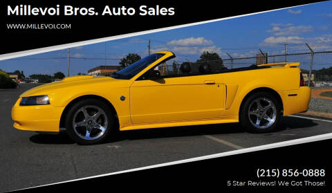 2004 Ford Mustang for sale at Millevoi Bros. Auto Sales in Philadelphia PA