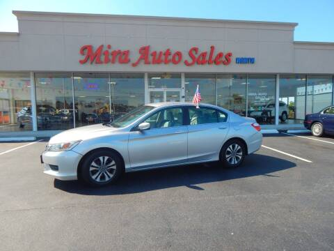 2015 Honda Accord for sale at Mira Auto Sales in Dayton OH
