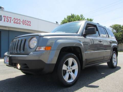 2014 Jeep Patriot for sale at Trimax Auto Group in Norfolk VA