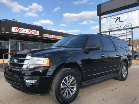2017 Ford Expedition EL for sale at NORRIS AUTO SALES in Oklahoma City OK