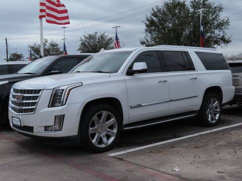 2016 Cadillac Escalade ESV for sale at Ron Carter  Clear Lake Used Cars in Houston TX
