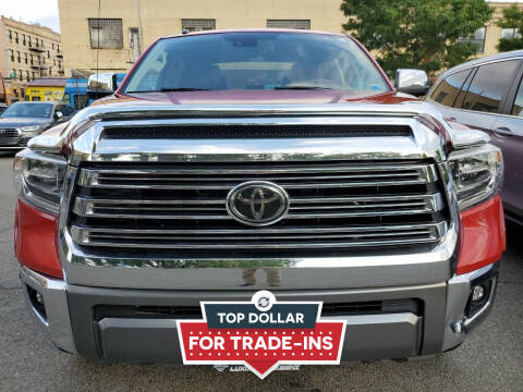 2018 Toyota Tundra for sale at LUXURY OF QUEENS,INC in Long Island City NY
