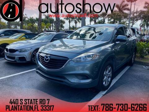2013 Mazda CX-9 for sale at AUTOSHOW SALES & SERVICE in Plantation FL
