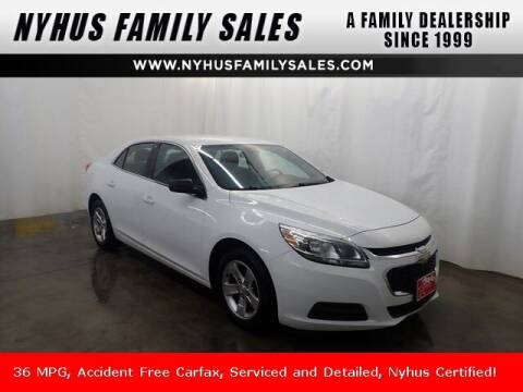 2015 Chevrolet Malibu for sale at Nyhus Family Sales in Perham MN