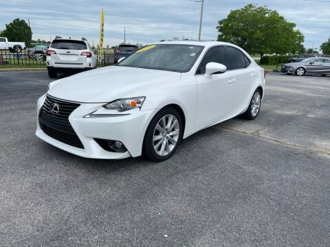 2014 Lexus IS 250 for sale at Bagwell Motors in Lowell AR
