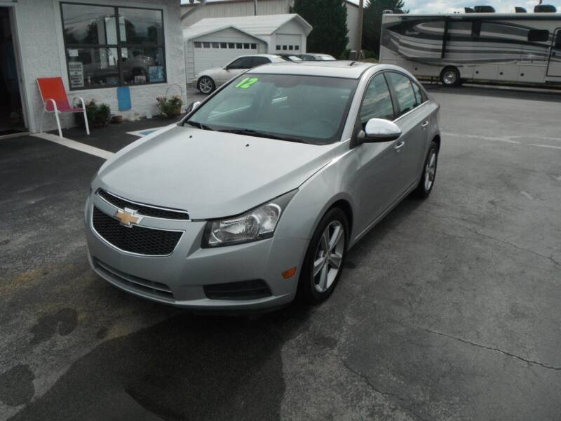 2012 Chevrolet Cruze for sale at Morelock Motors INC in Maryville TN