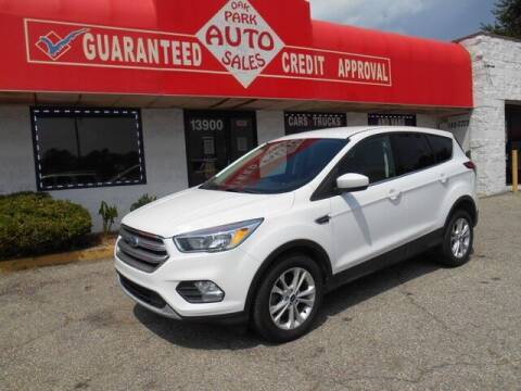 2017 Ford Escape for sale at Oak Park Auto Sales in Oak Park MI