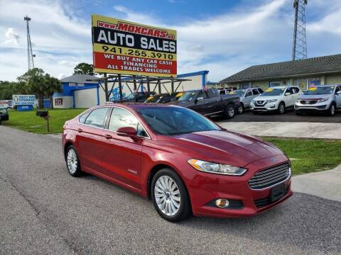 2014 Ford Fusion Hybrid for sale at Mox Motors in Port Charlotte FL