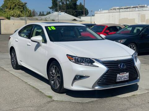 2018 Lexus ES 300h for sale at H & K Auto Sales & Leasing in San Jose CA