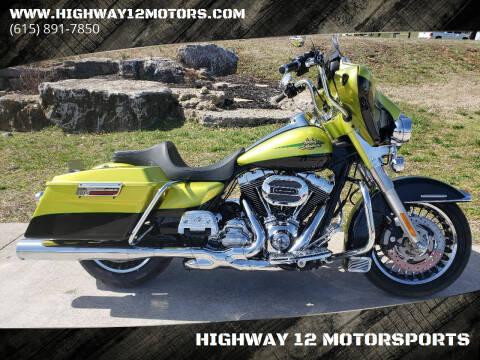 2011 Harley-Davidson FLHTK for sale at HIGHWAY 12 MOTORSPORTS in Nashville TN