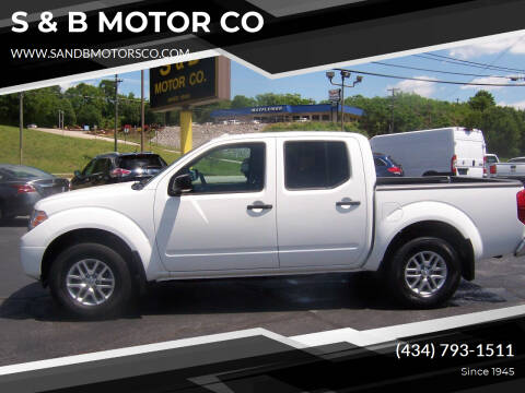 2018 Nissan Frontier for sale at S & B MOTOR CO in Danville VA