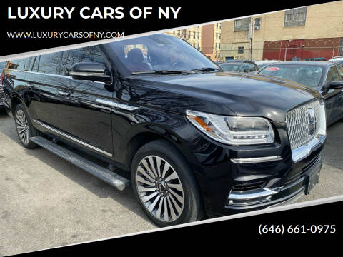 2019 Lincoln Navigator L for sale at LUXURY CARS OF NY in Queens NY