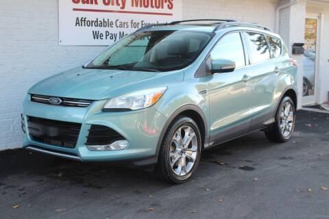 2013 Ford Escape for sale at Oak City Motors in Garner NC
