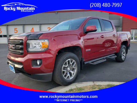 2018 GMC Canyon for sale at Rocky Mountain Motors in Idaho Falls ID