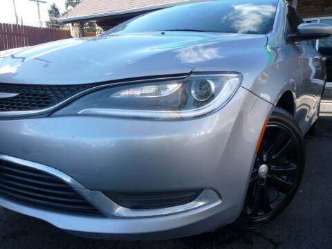 2015 Chrysler 200 for sale at Sindibad Auto Sale, LLC in Englewood CO