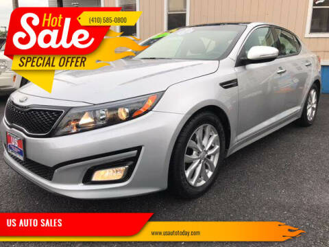 2014 Kia Optima for sale at US AUTO SALES in Baltimore MD