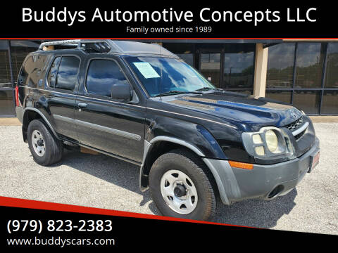 2002 Nissan Xterra for sale at Buddys Automotive Concepts LLC in Bryan TX