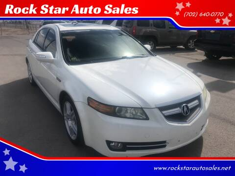 2008 Acura TL for sale at Rock Star Auto Sales in Las Vegas NV