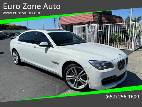 2015 BMW 7 Series for sale at Euro Zone Auto in Stanton CA