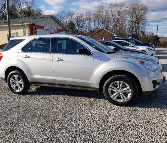 2010 Chevrolet Equinox for sale at 220 Auto Sales in Rocky Mount VA