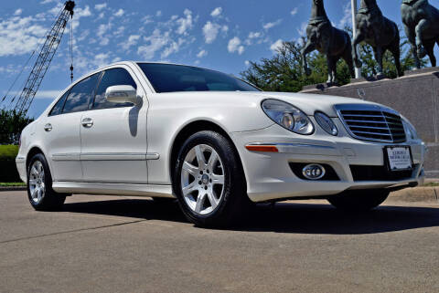 2009 Mercedes-Benz E-Class for sale at European Motor Cars LTD in Fort Worth TX