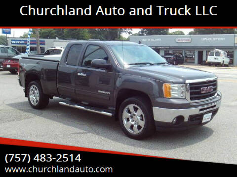 2011 GMC Sierra 1500 for sale at Churchland Auto and Truck LLC in Portsmouth VA