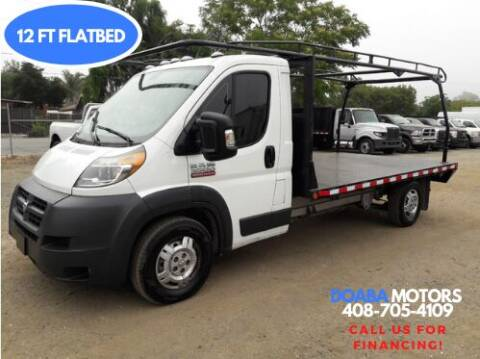 2014 RAM ProMaster Cab Chassis for sale at DOABA Motors - Flatbeds in San Jose CA