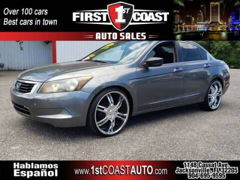 2009 Honda Accord for sale at 1st Coast Auto -Cassat Avenue in Jacksonville FL