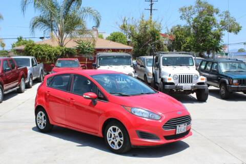 2014 Ford Fiesta for sale at Car 1234 inc in El Cajon CA