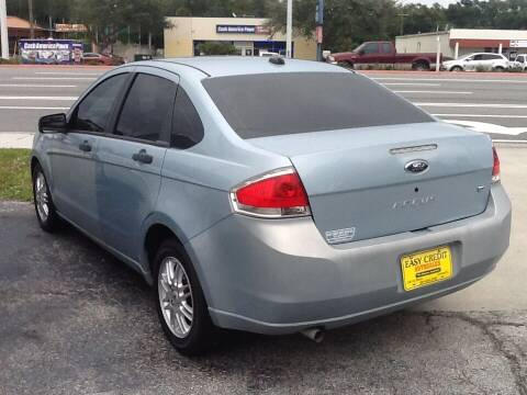 2009 Ford Focus for sale at Easy Credit Auto Sales in Cocoa FL