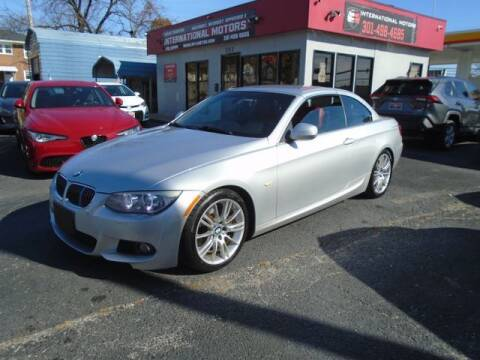 2013 BMW 3 Series for sale at International Motors in Laurel MD